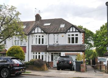 Thumbnail 5 bed semi-detached house for sale in Oakwood Crescent, Winchmore Hill, London