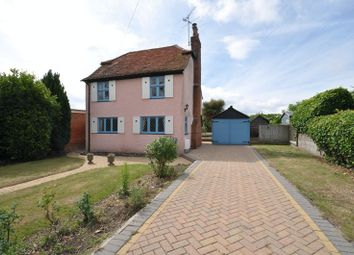 Thumbnail 3 bed detached house for sale in Barfield Road, West Mersea, Colchester