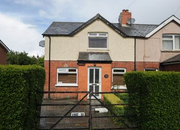 Thumbnail 2 bedroom semi-detached house for sale in Dunlady Road, Dundonald, Belfast