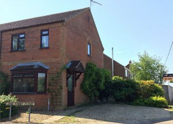 Thumbnail 3 bed end terrace house for sale in Church Road, Wretton, King's Lynn