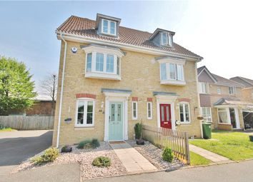 Thumbnail 3 bed semi-detached house for sale in Parkside Place, Staines-Upon-Thames, Surrey