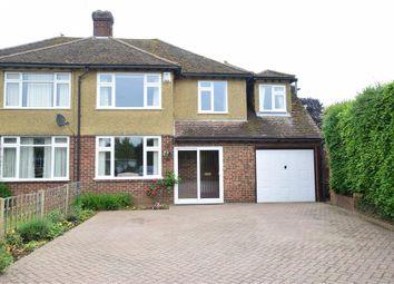 Thumbnail 4 bed semi-detached house for sale in Old Trafford Close, Maidstone, Kent