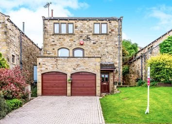 Thumbnail 4 bed detached house for sale in Greendale Court, Honley, Holmfirth