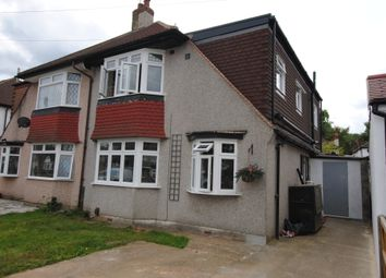 Thumbnail 3 bed semi-detached house for sale in Inwood Avenue, Old Coulsdon, Surrey