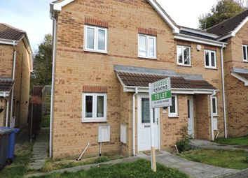 Thumbnail 3 bed town house to rent in Ravenna Close, Kendray, Barnsley