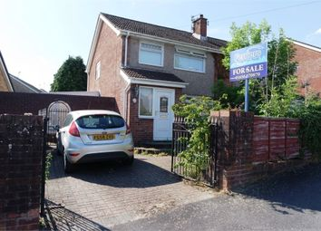 Thumbnail 3 bed semi-detached house for sale in Highbury Crescent, Cefn Glas, Bridgend, Mid Glamorgan