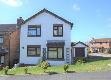 Thumbnail 4 bed detached house for sale in Rowan Close, Plymouth, Devon