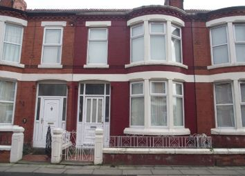 Thumbnail 3 bed terraced house to rent in Eskburn Road, Liverpool