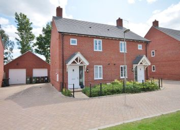Thumbnail 3 bed semi-detached house to rent in The Avenue, Didcot