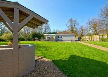 Thumbnail 3 bed detached bungalow for sale in Old North Road, Longstowe, Cambridge