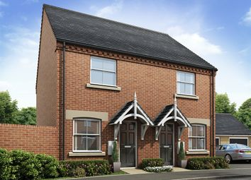 "Thumbnail 2 bed semi-detached house for sale in ""The Swinderby"" at Lavender Way, Newark"