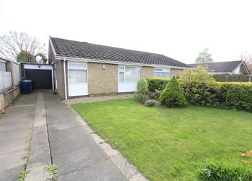 Thumbnail 2 bed semi-detached bungalow for sale in Castle Way, Dinnington