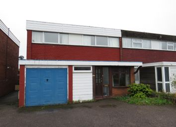 Thumbnail 3 bed semi-detached house for sale in Carlton Crescent, Tamworth