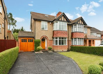 Thumbnail 4 bed semi-detached house for sale in Crescent Gardens, Ruislip