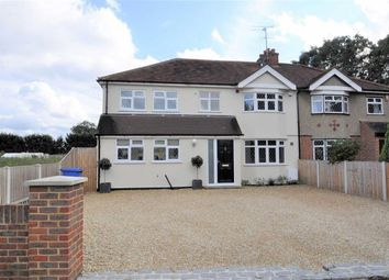 Thumbnail 4 bed semi-detached house for sale in The Drive, Wraysbury, Berkshire