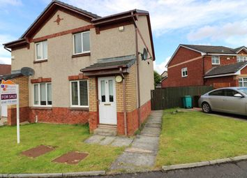 Thumbnail 2 bed semi-detached house for sale in Klondyke Court, New Stevenston
