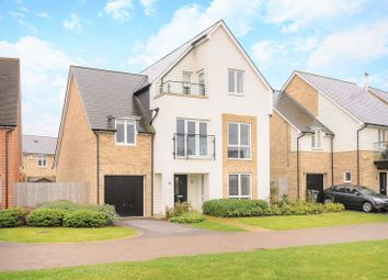 Thumbnail 5 bed detached house for sale in Dove Tree Close, Epsom