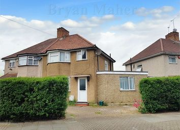 Thumbnail 4 bed semi-detached house for sale in Monks Park, Wembley
