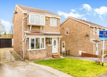 Thumbnail 3 bed detached house for sale in Vicarage Gardens, Featherstone, Pontefract