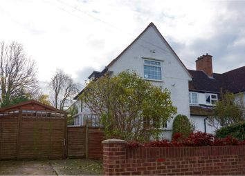 Thumbnail 3 bed semi-detached house for sale in Campers Avenue, Letchworth Garden City