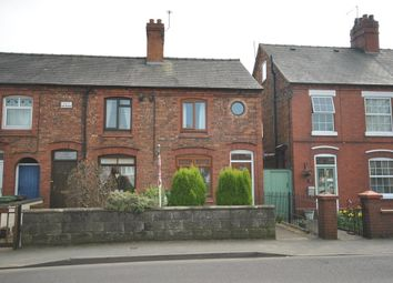 Thumbnail 2 bed end terrace house to rent in Wrexham Road, Whitchurch, Shropshire