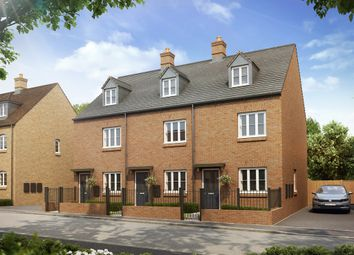"Thumbnail 3 bed town house for sale in ""The Charlton"" at Heathencote, Towcester"