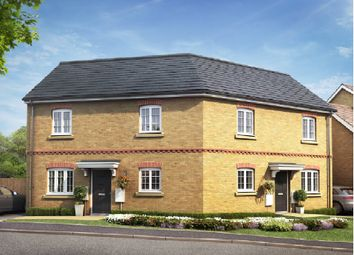 Thumbnail 2 bed semi-detached house for sale in Fen Lane, Sawtry, Huntingdon