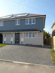 Thumbnail 3 bed semi-detached house to rent in Hillbourne Road, Weymouth