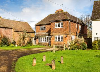 Thumbnail 4 bed detached house for sale in Rushett Common, Bramley, Guildford, Surrey