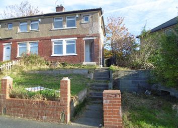 Thumbnail 3 bed semi-detached house to rent in Lennon Drive, Bradford