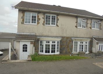 Thumbnail 3 bed property to rent in Ty Gwyn Drive, Brackla, Bridgend, Bridgend.