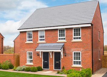 "Thumbnail 2 bed semi-detached house for sale in ""Kendal"" at Rykneld Road, Littleover, Derby"