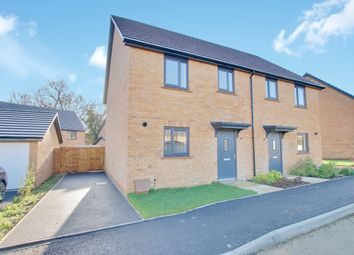 Thumbnail 3 bed semi-detached house for sale in Carver Way, Ramsey, Huntingdon