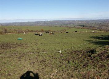 Thumbnail Land for sale in Land Near Blaen Maenog, Velindre, Llandysul, Carmarthenshire