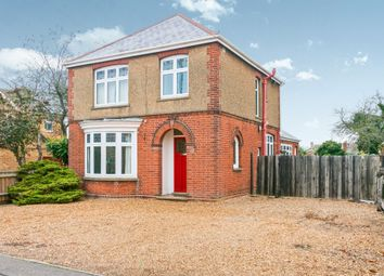 Thumbnail 3 bed detached house for sale in Wisbech Road, March