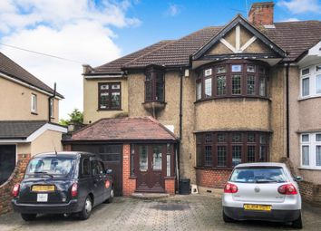 Thumbnail 5 bed semi-detached house for sale in Upper Brentwood Road, Gidea Park, Romford