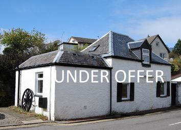 Thumbnail 1 bed detached house for sale in Dalriach Road, Oban