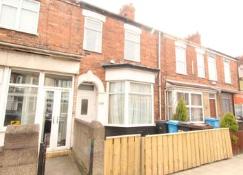 Thumbnail 3 bed terraced house for sale in Newland Avenue, Hull