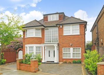 Thumbnail 5 bed detached house for sale in Hillcrest Gardens, Finchley N3,