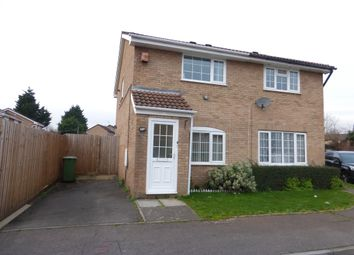 Thumbnail 2 bedroom semi-detached house for sale in Caradoc Close, St. Mellons, Cardiff