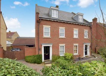Thumbnail 4 bed semi-detached house for sale in Gershwin Boulevard, Witham