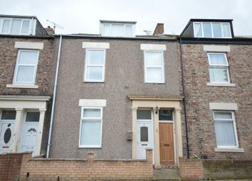 Thumbnail 4 bed flat for sale in William Street West, North Shields