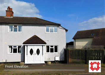 Thumbnail 3 bed semi-detached house for sale in The Avenue, Stotfold, Herts