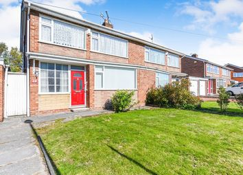 Thumbnail 3 bed semi-detached house for sale in Longmeadow Road, Knowsley, Prescot