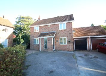 Thumbnail 4 bed detached house for sale in Hawker Close, Wimborne