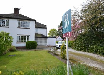 Thumbnail 3 bed semi-detached house to rent in Hawthorn Lane, Wilmslow