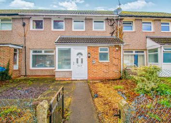 Thumbnail 3 bed terraced house for sale in Brangwyn Avenue, Llantarnam, Cwmbran