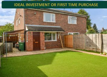 Thumbnail 1 bed terraced house for sale in Penney Close, Wigston, Leicester