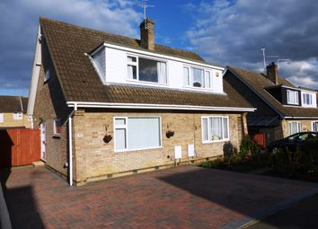 Thumbnail 3 bed semi-detached house for sale in Springfield Road, Yaxley, Peterborough