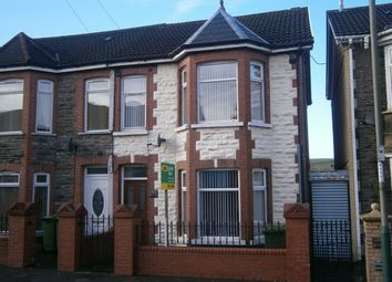 Thumbnail 3 bed semi-detached house for sale in Church Street, Rhymney, Tredegar